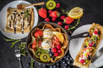 クレープ フランス料理 French pancake