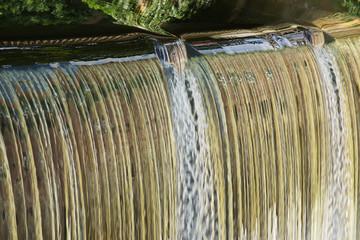 Emswehr an der Großen Mühle in Telgte, Nordrhein-Westfalen