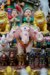 Erawan elephant,three head elephant who carries the Hindu god.