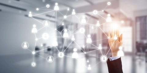Modern wireless technologies for business and connecting people all over the world