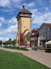 Poster Nouvelle Zélande Tübinger Tor in der Altstadt von Reutlingen