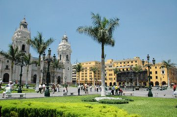 Downtown Lima Peru