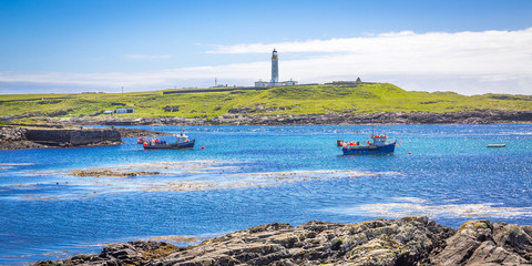 Rhinns of Islay Lighthouse, Port Wemyss, Scotland