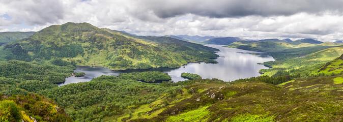 Cadres-photo bureau Cote Panorama of Loch Katrine, Trossachs NP, Scotland