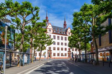 Alte Universität in Mainz, Rheinland-Pfalz, Deutschland. 11 Juni 2017.