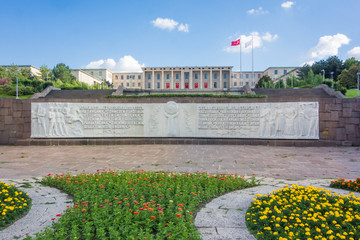 The Grand National Assembly or The Parliament Building in Ankara, Turkey