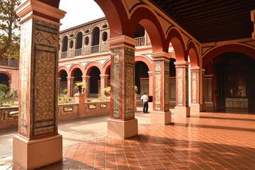 Cloître mauresque à Lima au Pérou