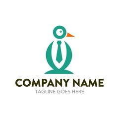 Unique Penguin Logo