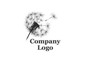 Company Logo with dandelion