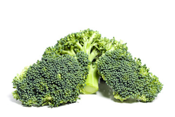 Broccoli. Isolated.