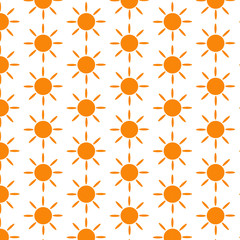 Pattern background Sun Icon