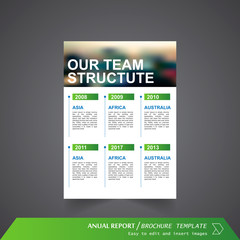 Anual Report , Brochure Template - page 06