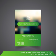 Anual Report , Brochure Template - page 20