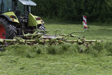 haying tractor