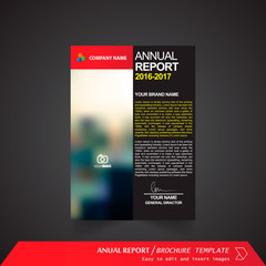 Anual Report , Brochure Template - page 04