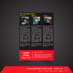 Anual Report , Brochure Template - page 07