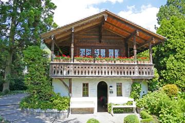 Chalet, Thunersee, Schweiz