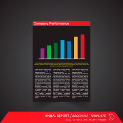 Anual Report , Brochure Template - page 08