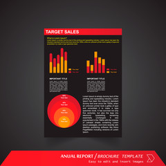 Anual Report , Brochure Template - page 14