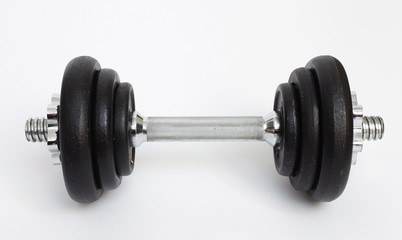 weights on white background