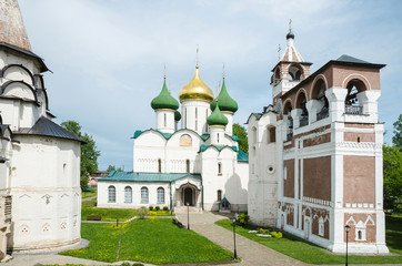 Cathedral of the Transfiguration of the Saviour, Monastery of Saint Euthymius, Suzdal, Russia