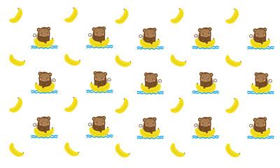 Cute monkey pattern design