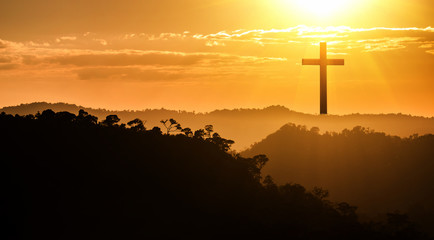 The cross on the mountain of Christ
