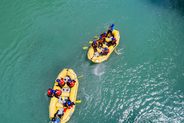Rafting - Vista aerea