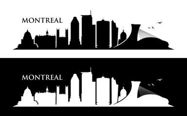 Wall Mural - Montreal skyline
