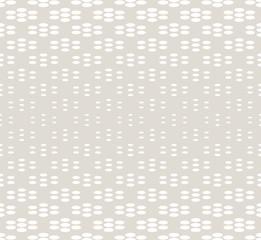 geometric seamless floral halftone vector pattern