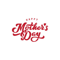 Mother's Day Calligraphy Lettering vector design