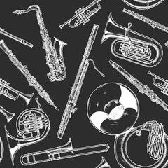 woodwind and brass musical instrument