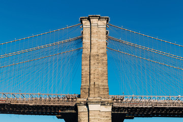 Brooklyn Bridge in New York City, Horizontal View