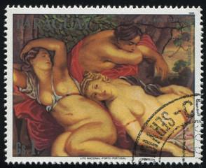 Cimon and Iphigenia by Rubens