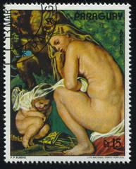 woman by Rubens