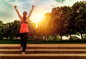 female fitness challenge