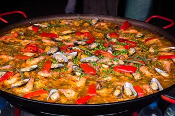 Spanish Paella:スペイン料理・パエリア