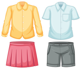 Clothes for boy and girl