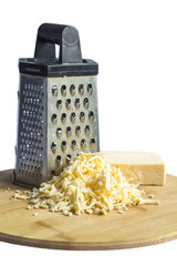 grated cheese grated