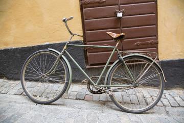 Bike in Old Town; Stockholm