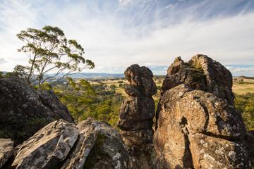 Hanging Rock in Macedon Ranges