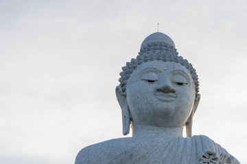Big Buddha monument on the Phuket island, Thailand