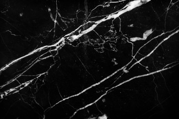 Black and white of Black marble pattern background.