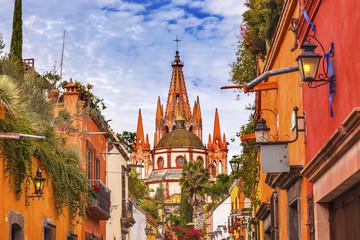 Aldama Street Parroquia Archangel Church San Miguel de Allende Mexico