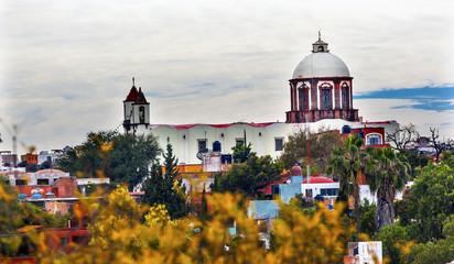 San Antonio White Church San Miguel de Allende Mexico