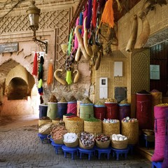 Keuken foto achterwand Marokko traditional