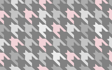 Pattern texture repeating seamless. Gray. Pink. Abstract fashion background. French cage. Geometric pattern. Vector Illustration. Beautiful pattern for fabric or wallpaper. Vector illustration pattern