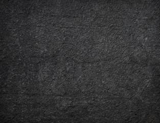 Black granular textured background
