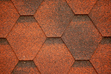 Abstract background of roofing material