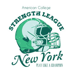 New York Strength League Poster